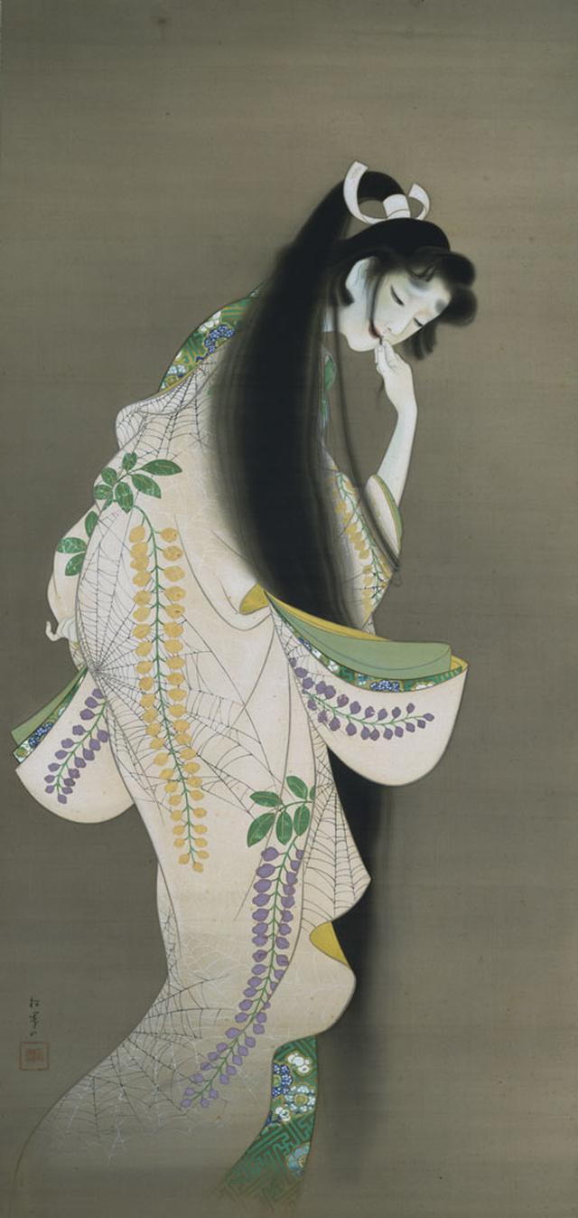 画像: 上村松園《焰》1918年 東京国立博物館蔵[前期展示]
