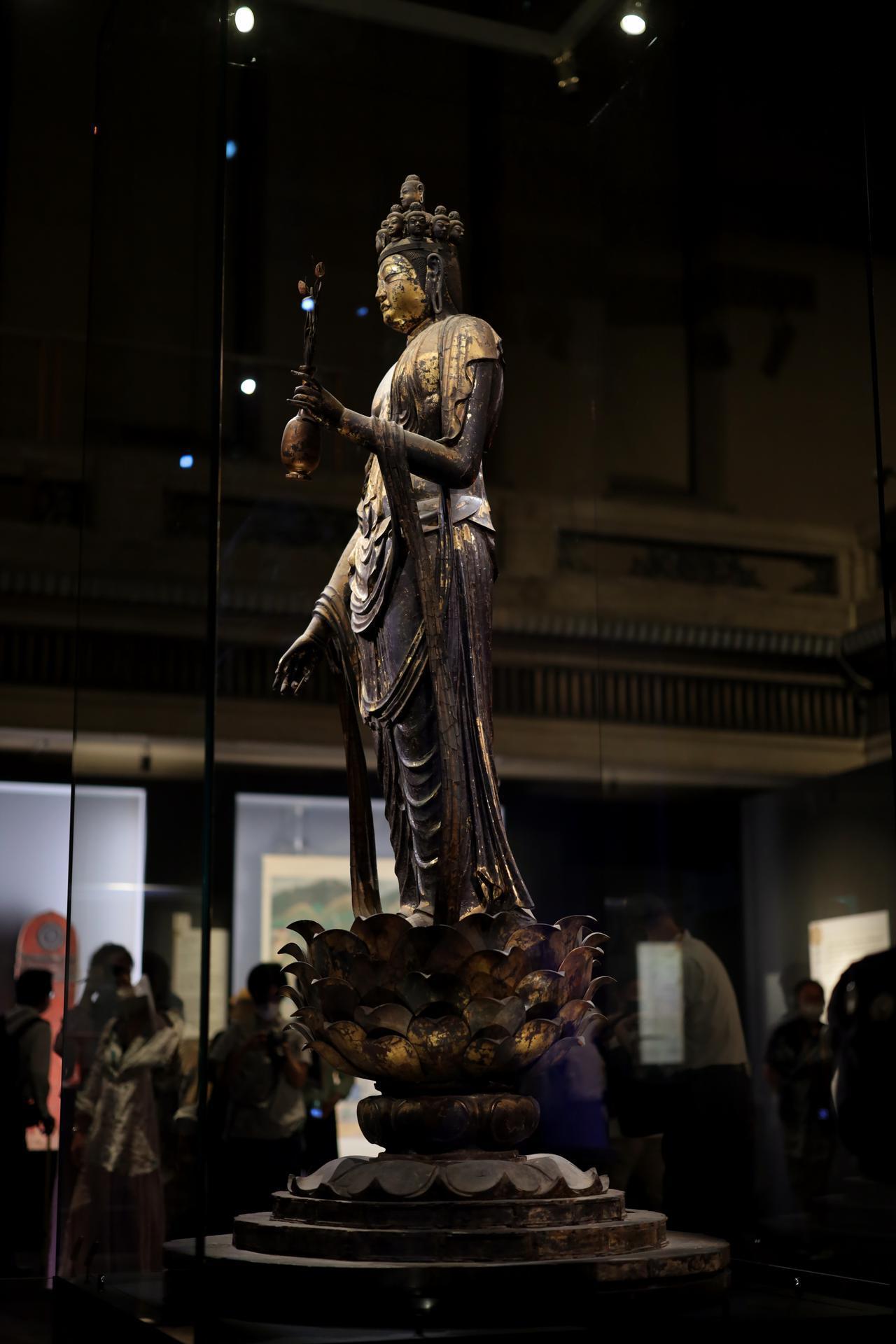 画像1: 国宝 十一面観音菩薩立像 奈良時代・8世紀 奈良・聖林寺蔵