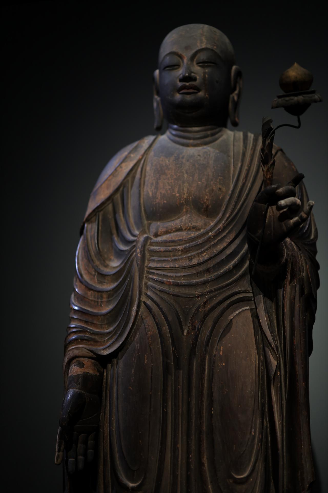 画像6: 国宝 地蔵菩薩立像 平安時代・9世紀 奈良・法隆寺蔵