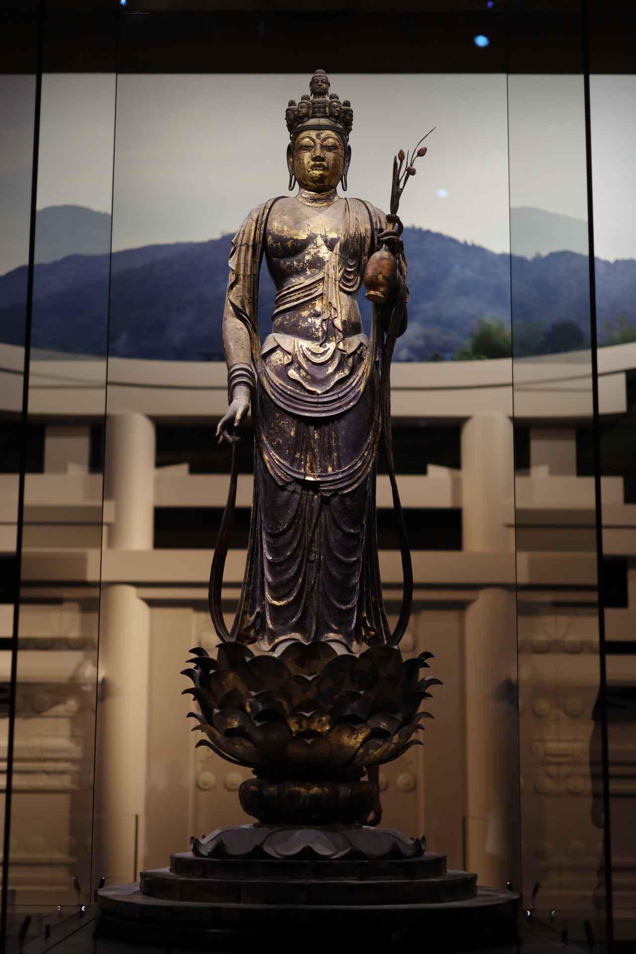 画像10: 国宝 十一面観音菩薩立像 奈良時代・8世紀 奈良・聖林寺蔵