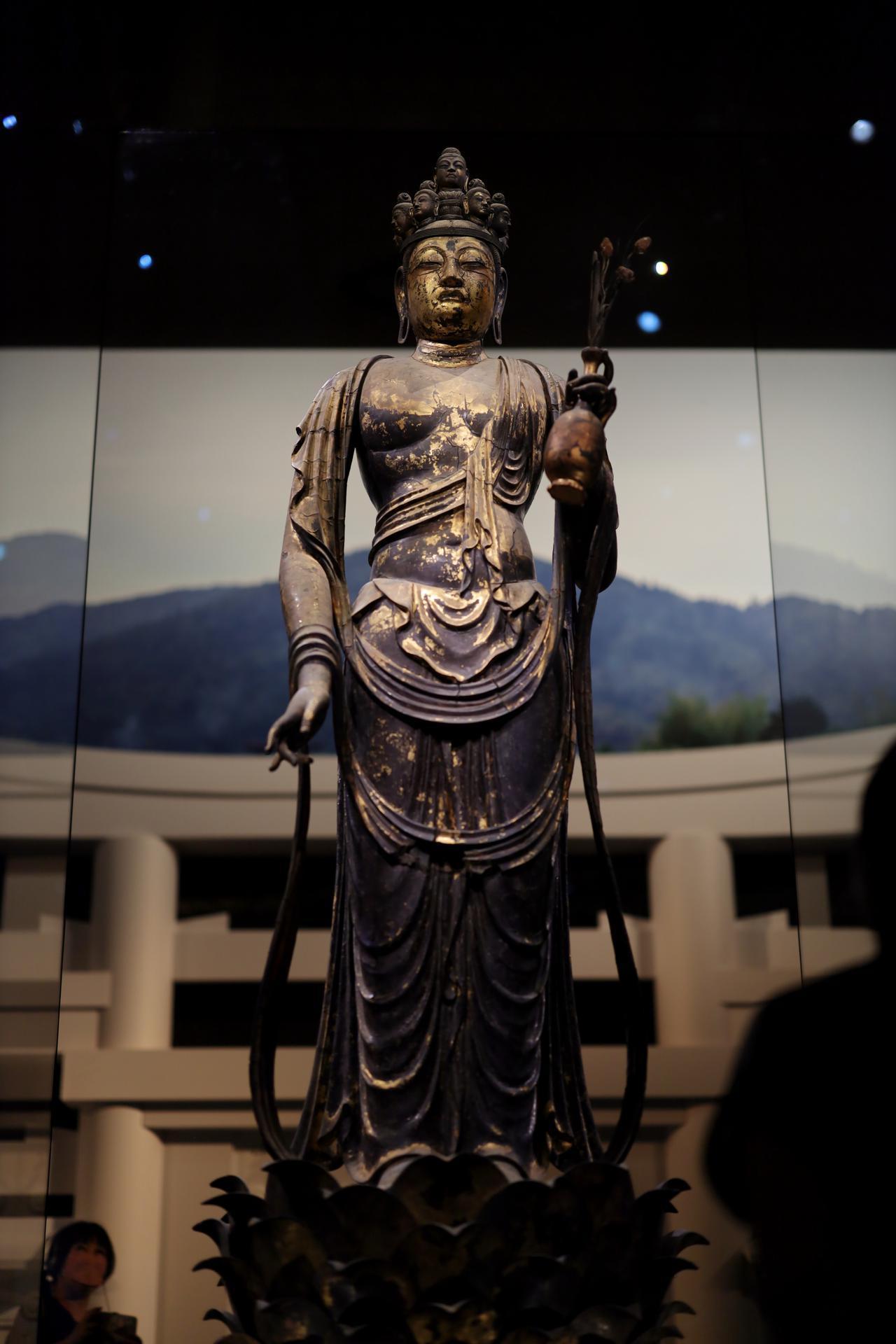 画像6: 国宝 十一面観音菩薩立像 奈良時代・8世紀 奈良・聖林寺蔵
