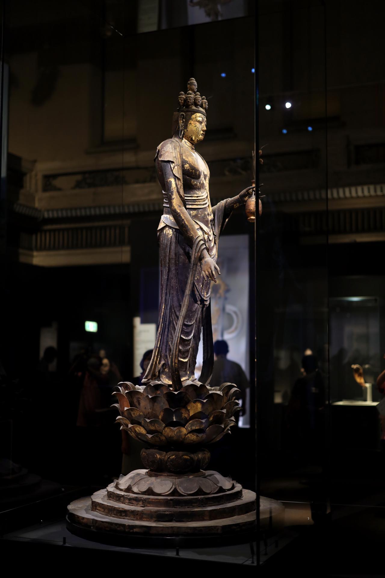 画像3: 国宝 十一面観音菩薩立像 奈良時代・8世紀 奈良・聖林寺蔵