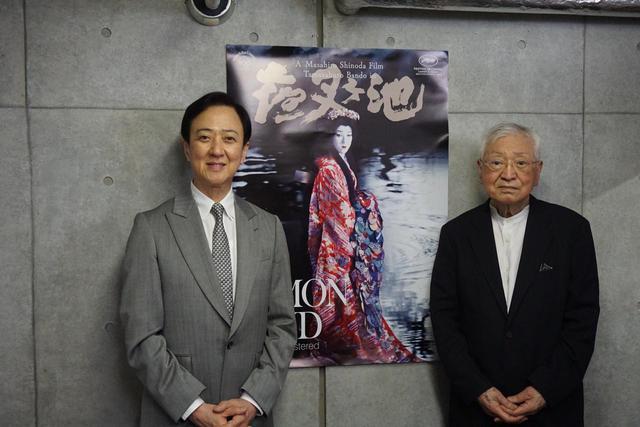 画像: 左より『夜叉ヶ池』主演の坂東玉三郎さん、篠田正浩監督