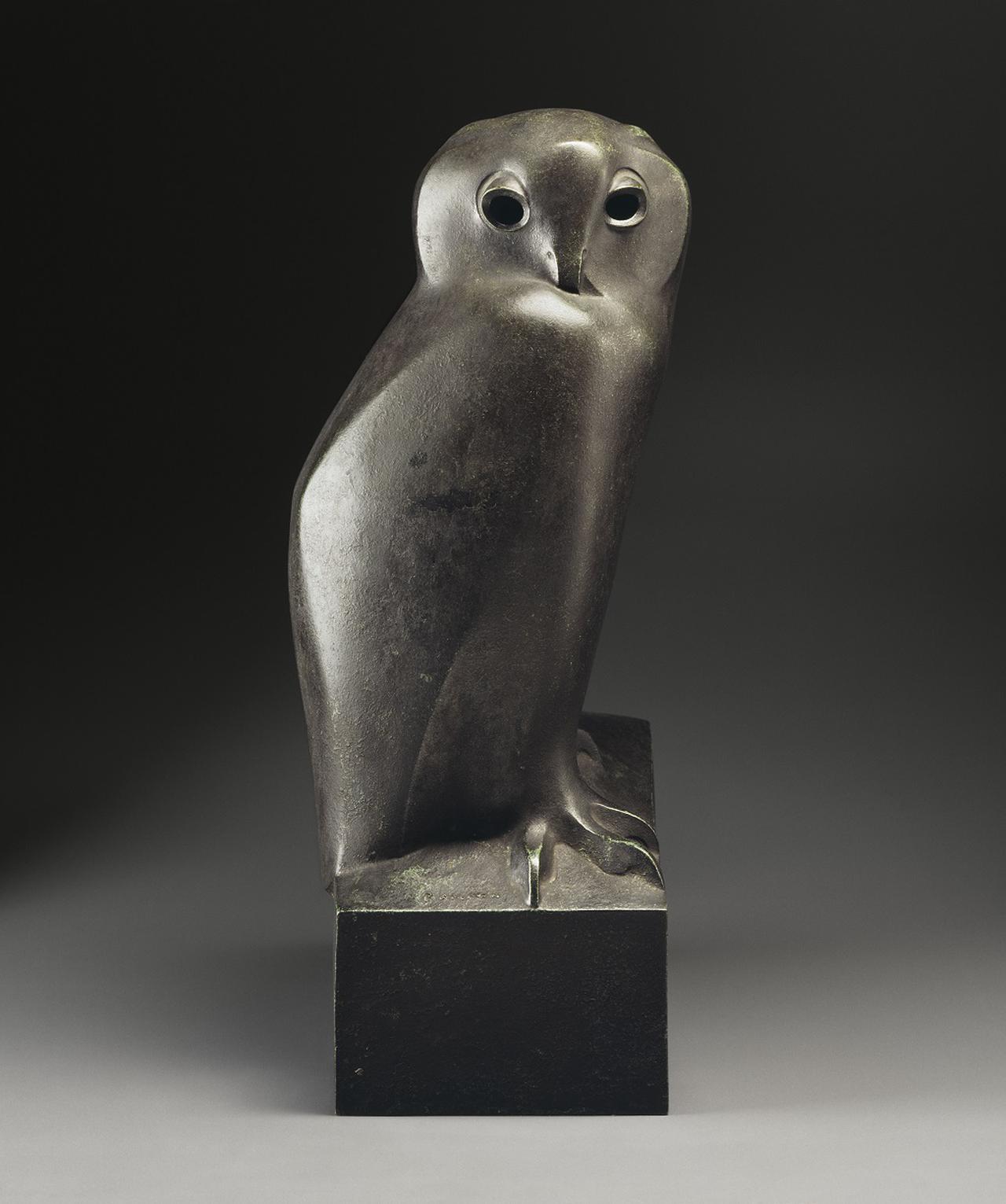 画像: 《ワシミミズク》1927-1930年 パリ、オルセー美術館蔵 © RMN-Grand Palais (musée d'Orsay) / A. Morin / Gallimard / distributed by AMF