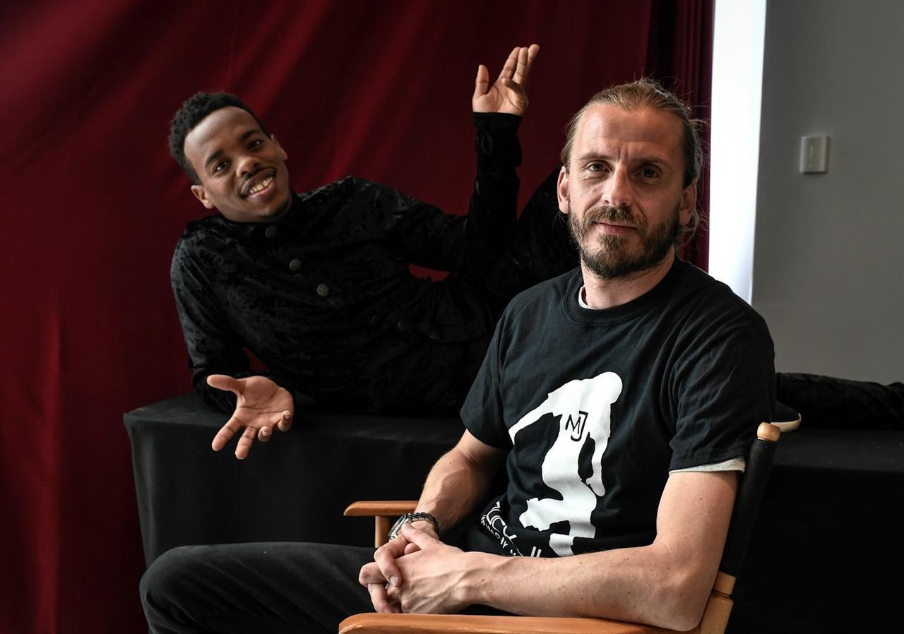 画像: 監督とリル・バック