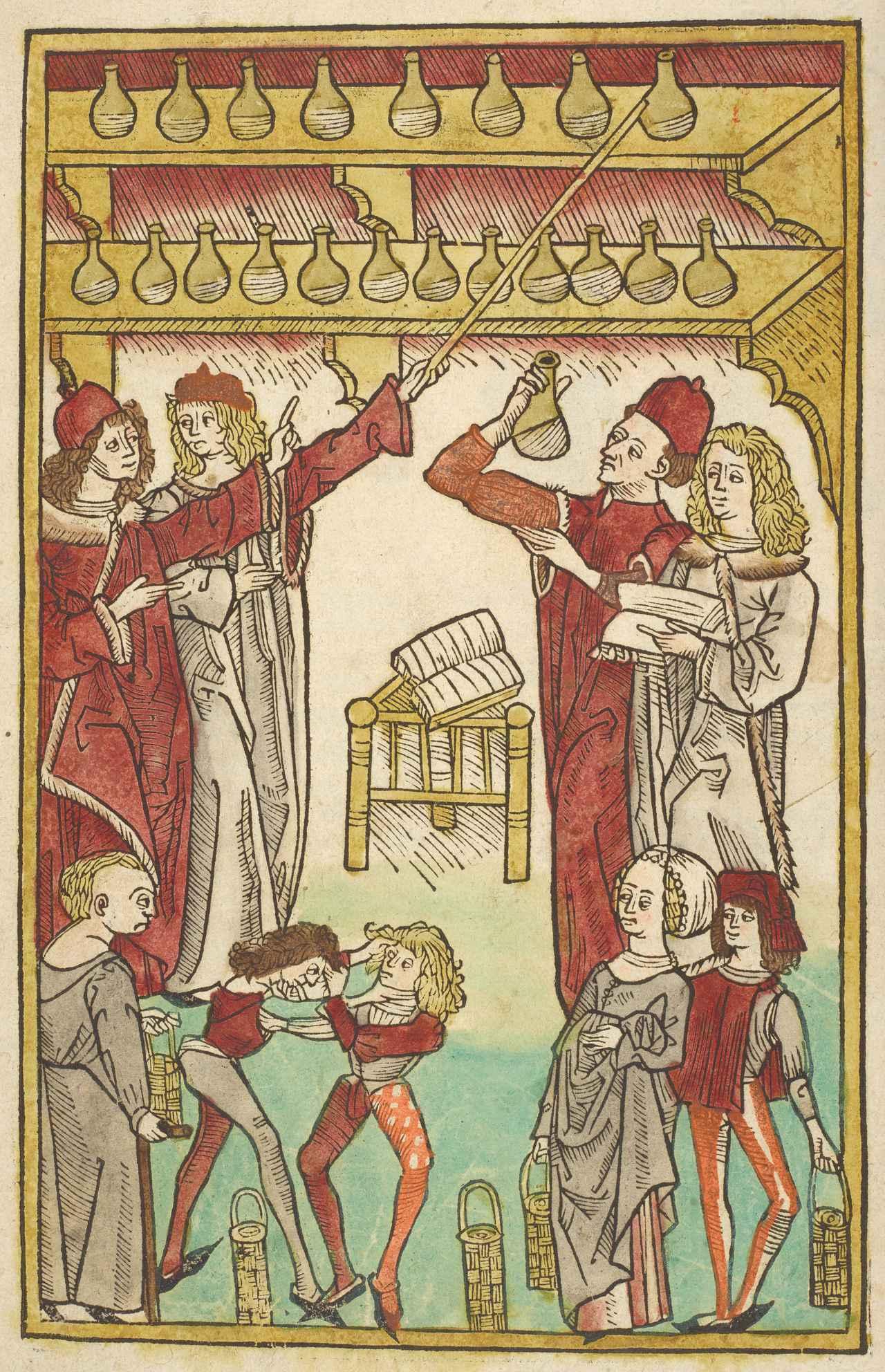 画像: ヤコブ・マイデンバッハ『健康の庭』 1491年 大英図書館蔵 ©British Library Board