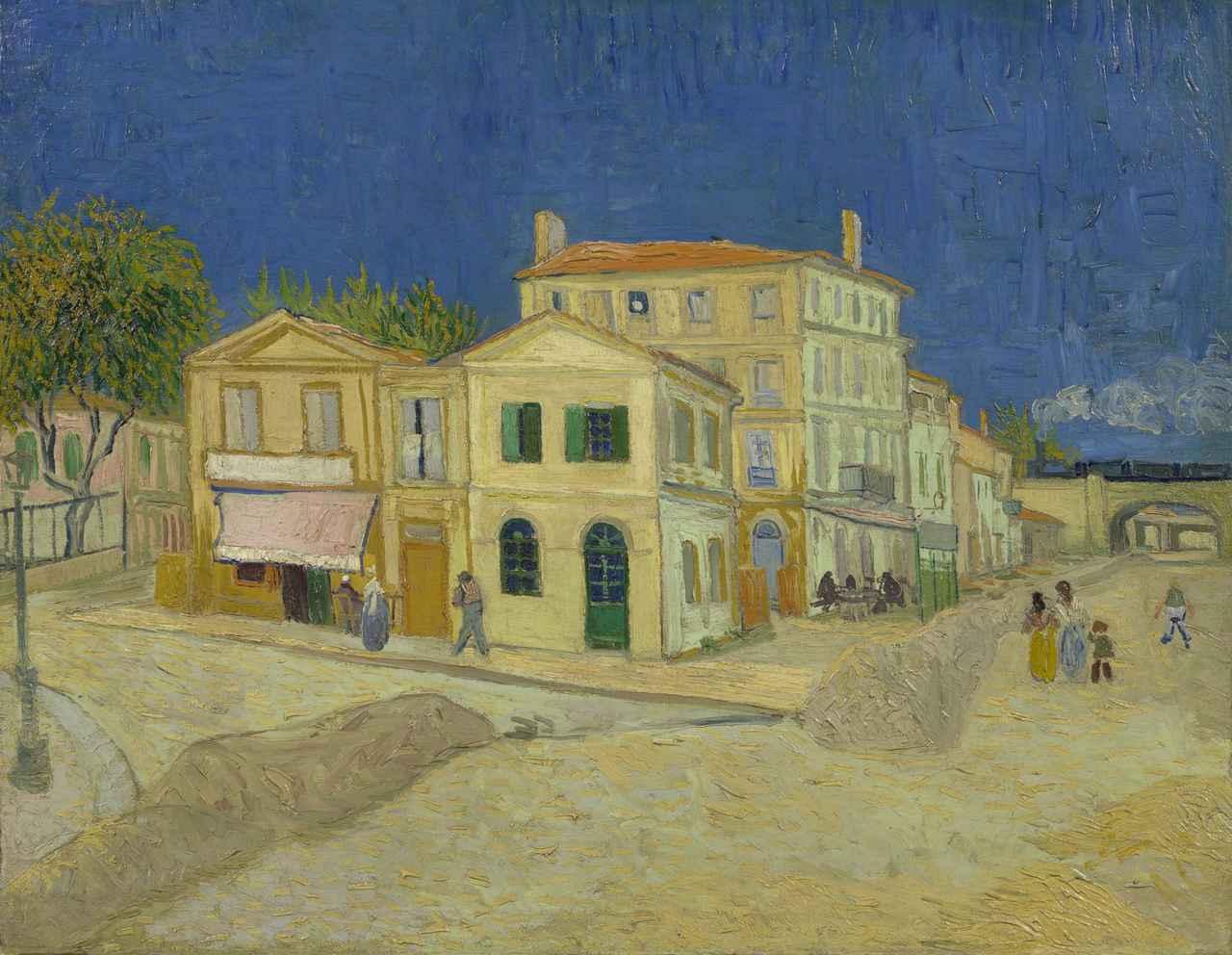 画像: フィンセント・ファン・ゴッホ 《黄色い家(通り)》 1888年9月 油彩、カンヴァス 72×91.5cmファン・ゴッホ美術館(フィンセント・ファン・ゴッホ財団)蔵 ©Van Gogh Museum, Amsterdam(Vincent van Gogh Foundation)