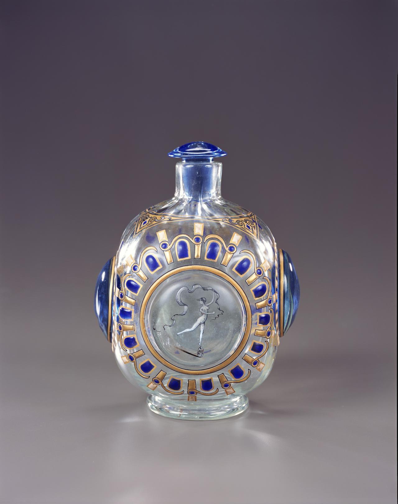 画像: 《女神文香水瓶》 エミール・ガレ 1884年  ガラス  ポーラ美術館蔵