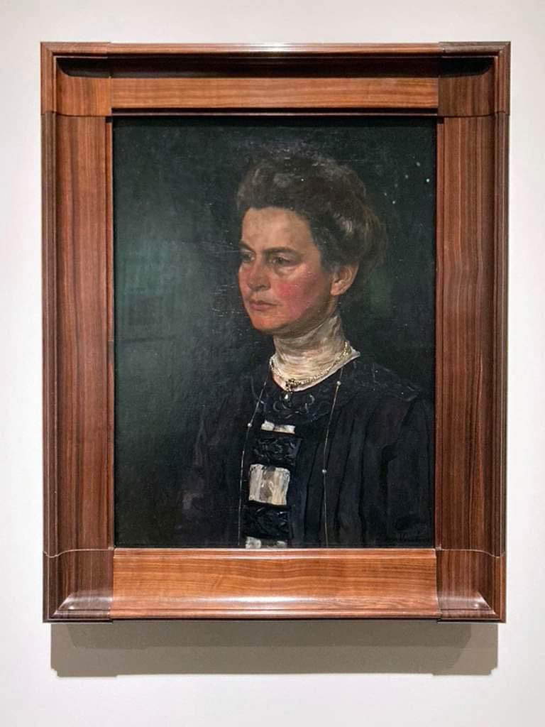 画像: フローリス・フェルステル《ヘレーネ・クレラー=ミュラーの肖像》1910年油彩、カンヴァス クレラー=ミュラー美術館蔵 photo by © cinefil