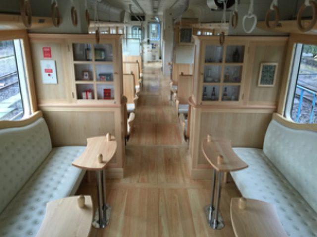 画像: 【運行開始】くま川鉄道のカフェトレイン「田園カフェ&スウィーツ」