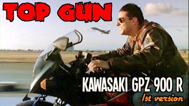 画像: Top Gun - Kawasaki GPZ 900r - YouTube