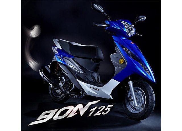 画像: 【PGO】新型スクーターBON125を発売
