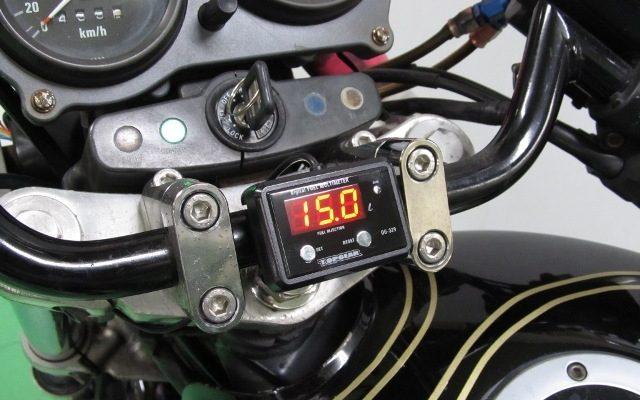 画像: プロテック、ゼファー400専用デジタルフューエルマルチメーターを発売