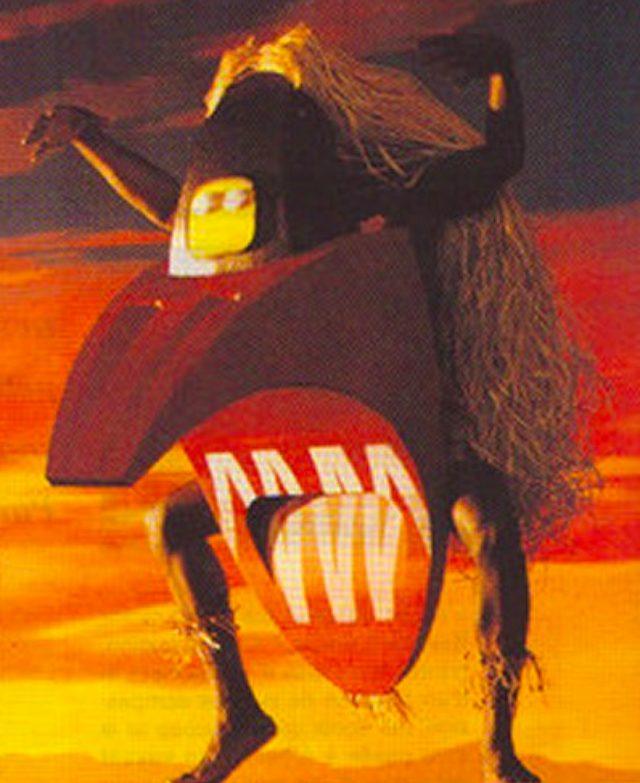 画像: 怪鳥をイメージ?SUZUKI DR800Sのフランス広告がぶっ飛んでる