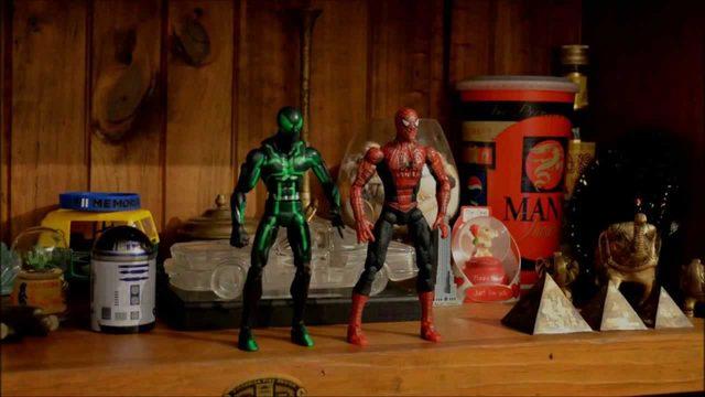 画像1: ヴェノムvsスパイディー!スパイダーマンファンによる、スパイダーマンの、オートバイ動画w