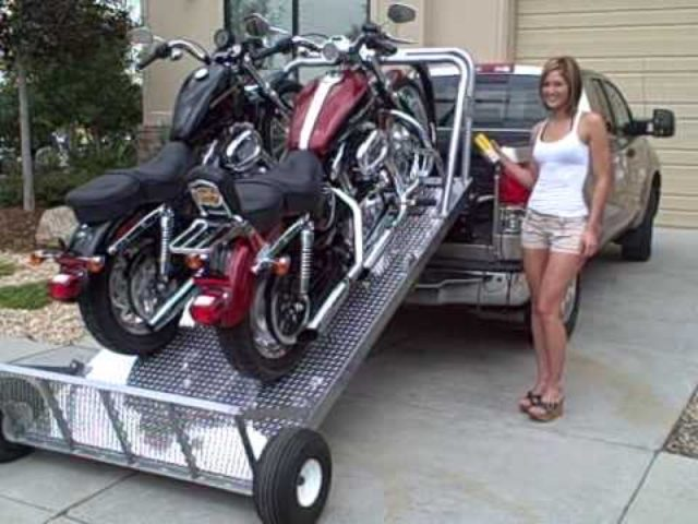 画像: もしも、バイクが積めたなら〜♪