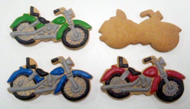 画像2: 見ても食べても楽しめる!アメリカンバイクのクッキー型