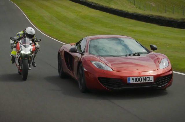 画像: 四輪vs二輪の頂点対決:McLaren 12C vs Ducati 1199 Panigale S