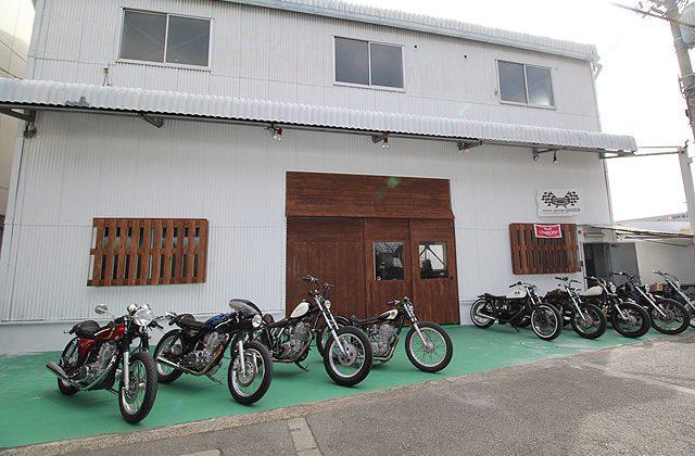 画像: 大阪豊中に国産カスタムバイク専門店がオープン