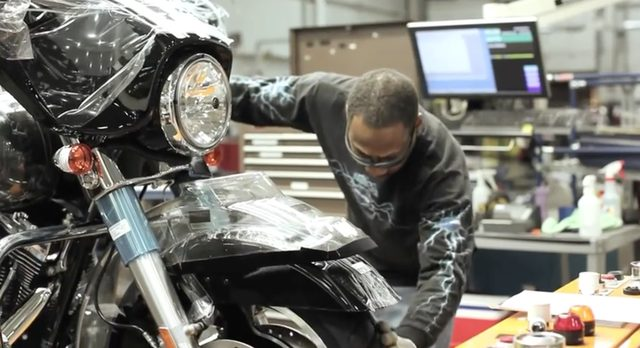 画像3: 工場好き集まれ!ハーレーダビッドソンのヨーク州ファクトリーの紹介動画