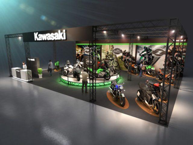 画像: <大阪&東京MCS2014>Ninja H2/Rの展示や、Ninja 250SLの体験コーナーも!
