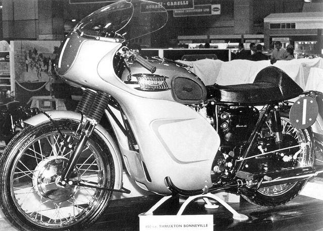 画像: 1964年アールズコートショーに出展されたスラクストン・ボンネビル www.fedrotriple.it