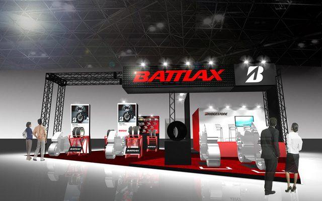 画像: 【東京モーターサイクルショー15】ブリヂストン、BATTLAXの世界観を演出...MotoGP車両も展示