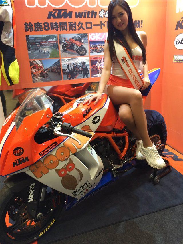 画像2: 東京モーターサイクルショー美女ピックアップPart3