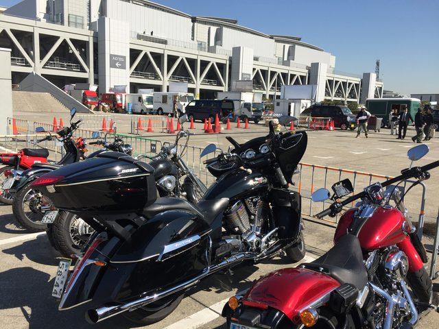 画像2: 東京モーターサイクルショー周りのバイクたちをスナップ!