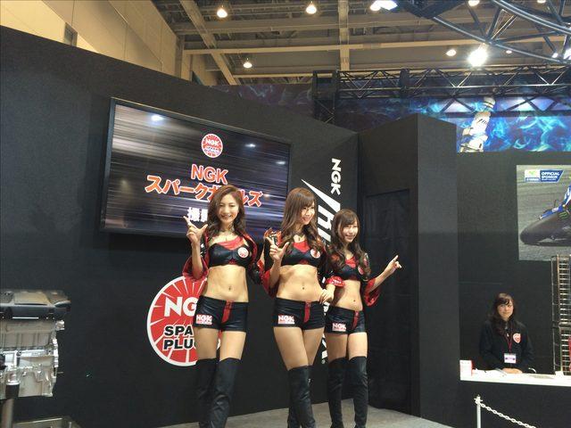 画像3: 東京モーターサイクルショー美女ピックアップ♡
