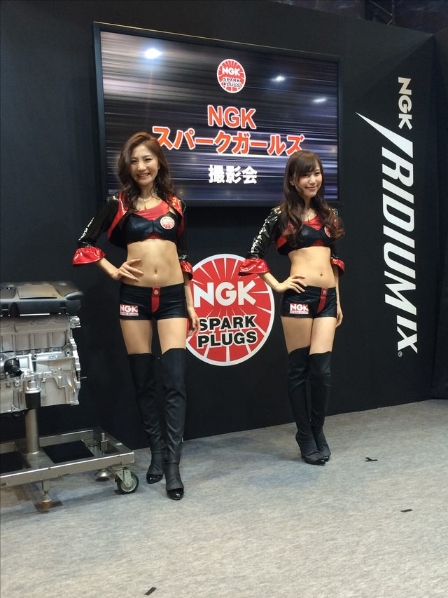 画像2: 東京モーターサイクルショー美女ピックアップ♡