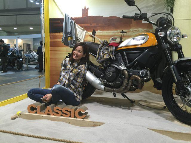 画像1: ドゥカティ!スクランブラー!女子も楽しめるバイクがここに!