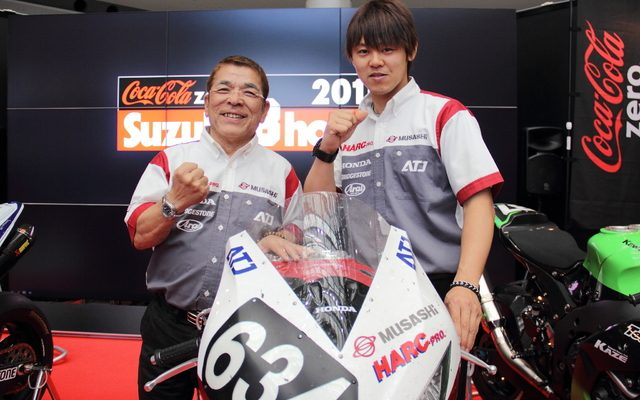 画像: 【鈴鹿8耐】3連覇狙う MuSASHi RT HARC-PRO 本田監督、「ストーナーは最も強力な助っ人」