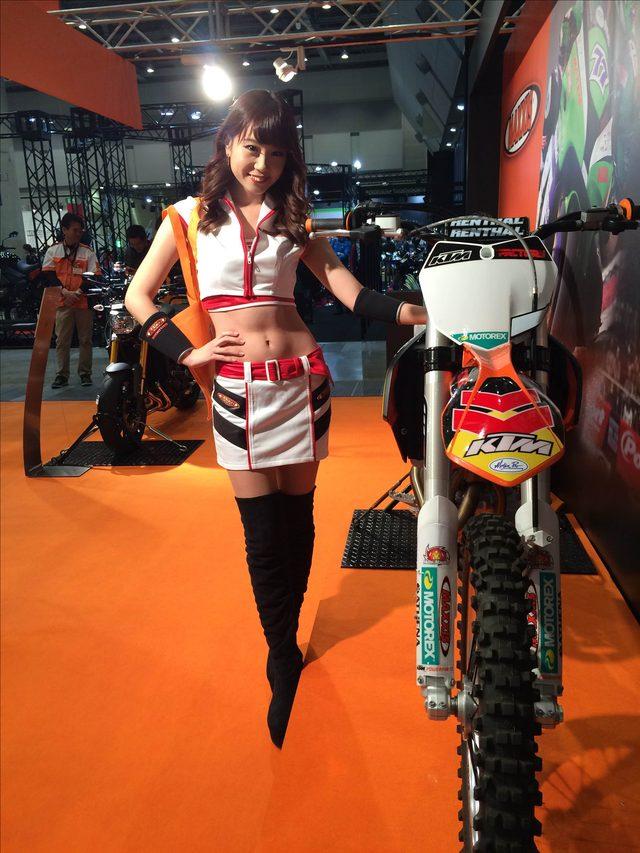画像1: 東京モーターサイクルショー美女ピックアップPart3