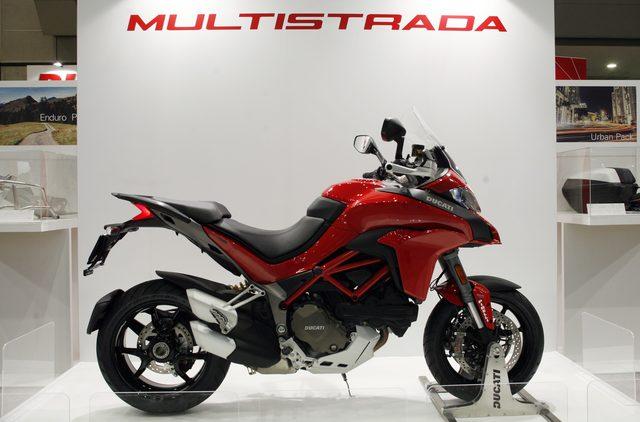 画像1: 【メーカーブースより】スポーツアドベンチャー斬り・その②「Ducati Japan」