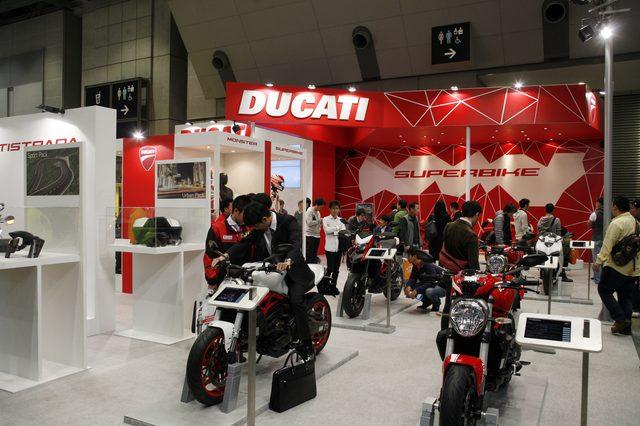 画像4: 【メーカーブースより】スポーツアドベンチャー斬り・その②「Ducati Japan」