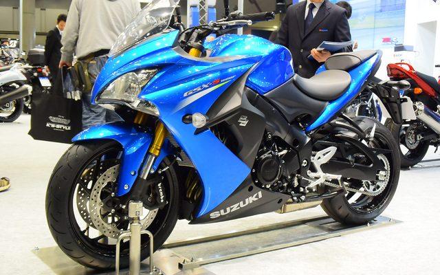 画像: 【東京モーターサイクルショー15】スズキ GSX-S1000 / F 、SSの心臓を積んだ新型スポーツ