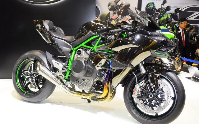 画像: 【東京モーターサイクルショー15】カワサキ ニンジャ H2R...326psのモンスター[詳細画像]