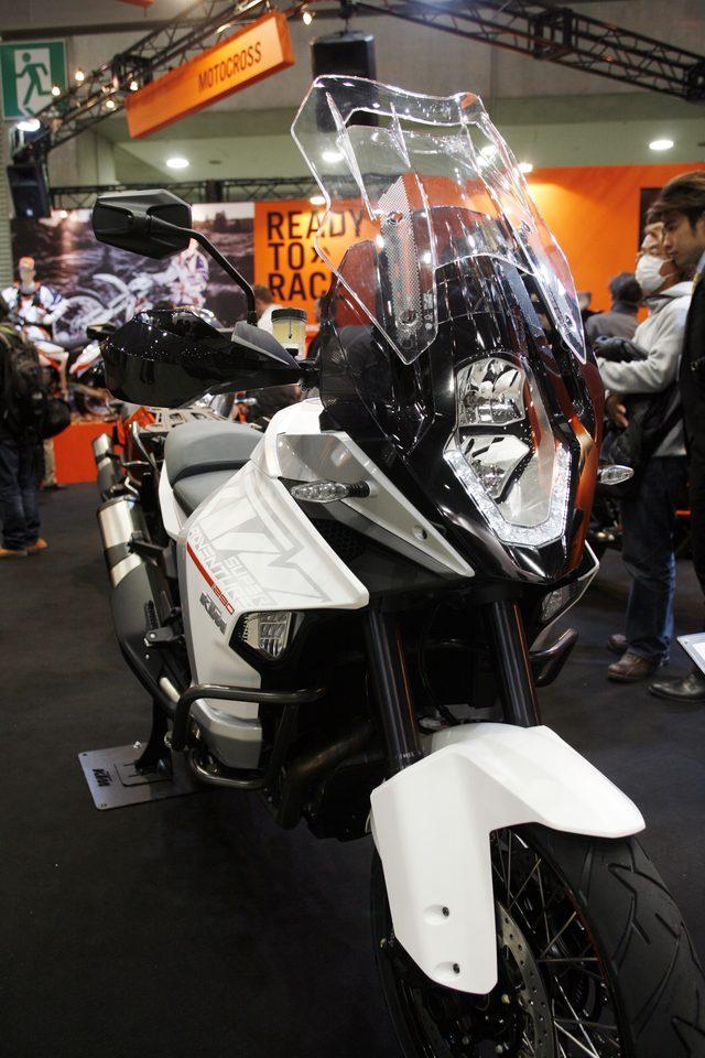 画像2: 【メーカーブースより】スポーツアドベンチャー斬り・その④「KTM JAPAN」