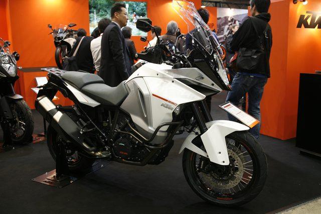 画像1: 【メーカーブースより】スポーツアドベンチャー斬り・その④「KTM JAPAN」
