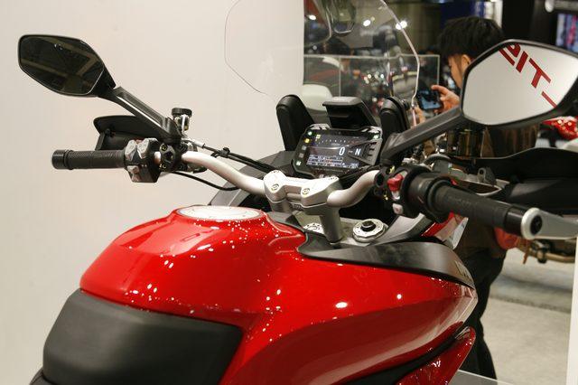 画像2: 【メーカーブースより】スポーツアドベンチャー斬り・その②「Ducati Japan」