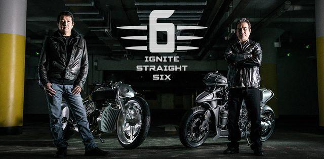 """画像: BMW Motorrad Japan は、日本のカスタムシーンを創り上げたレジェンド、河北啓二氏と永 井健次氏とともに、ニューコンセプト""""MAKE LIFE A RIDE""""のもと、オリジナルの K 1600 GTL を公開した。 www.bmw-motorrad.jp"""