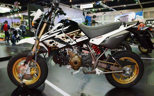 画像: 【バンコクモーターショー15】カワサキ KSR110 の10周年記念モデルが登場