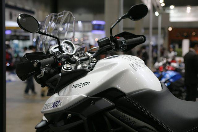 画像5: 【メーカーブースより】スポーツアドベンチャー斬り・その⑤「Triumph Motorcycle」