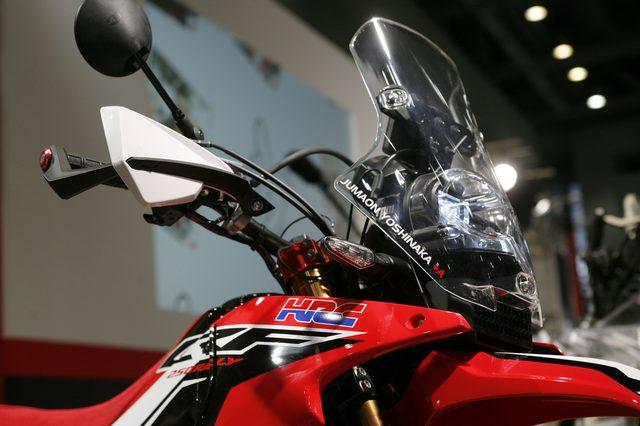 画像4: 【メーカーブースより】スポーツアドベンチャー斬り・その⑧「Honda」はやはりCRF250ラリー