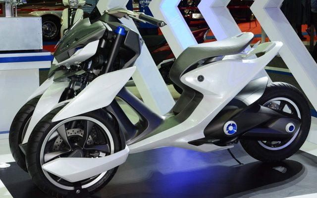 画像: 【バンコクモーターショー15】3輪ビークルの新しい可能性を探るコンセプト...ヤマハ03GEN-f