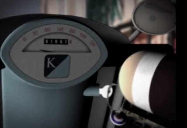 画像: エンジンをかけ、