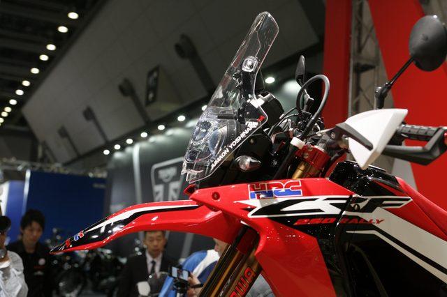 画像1: 【メーカーブースより】スポーツアドベンチャー斬り・その⑧「Honda」はやはりCRF250ラリー