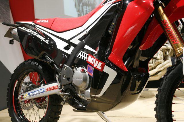 画像3: 【メーカーブースより】スポーツアドベンチャー斬り・その⑧「Honda」はやはりCRF250ラリー