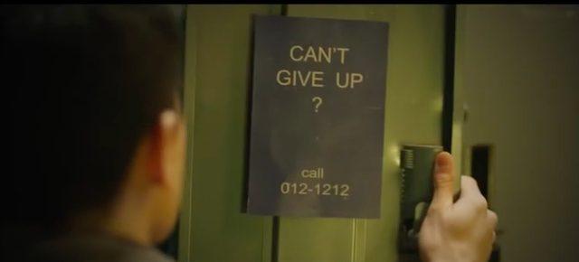 画像: その日から謎のメッセージは続き、ジムのロッカーには「諦められない?」